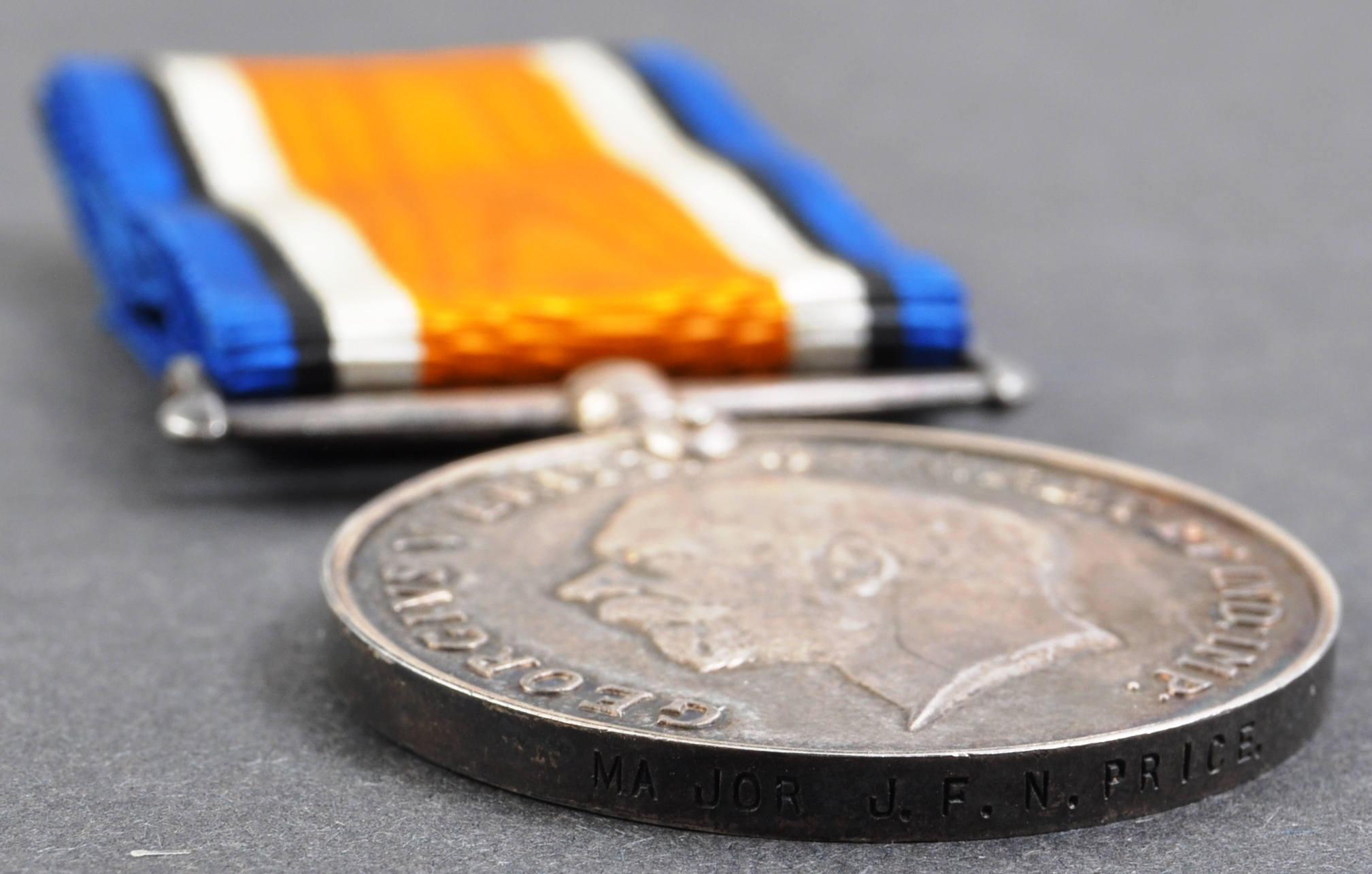 WWI FIRST WORLD WAR MEDAL TO A MAJOR J. F. N. PRICE - Image 3 of 4