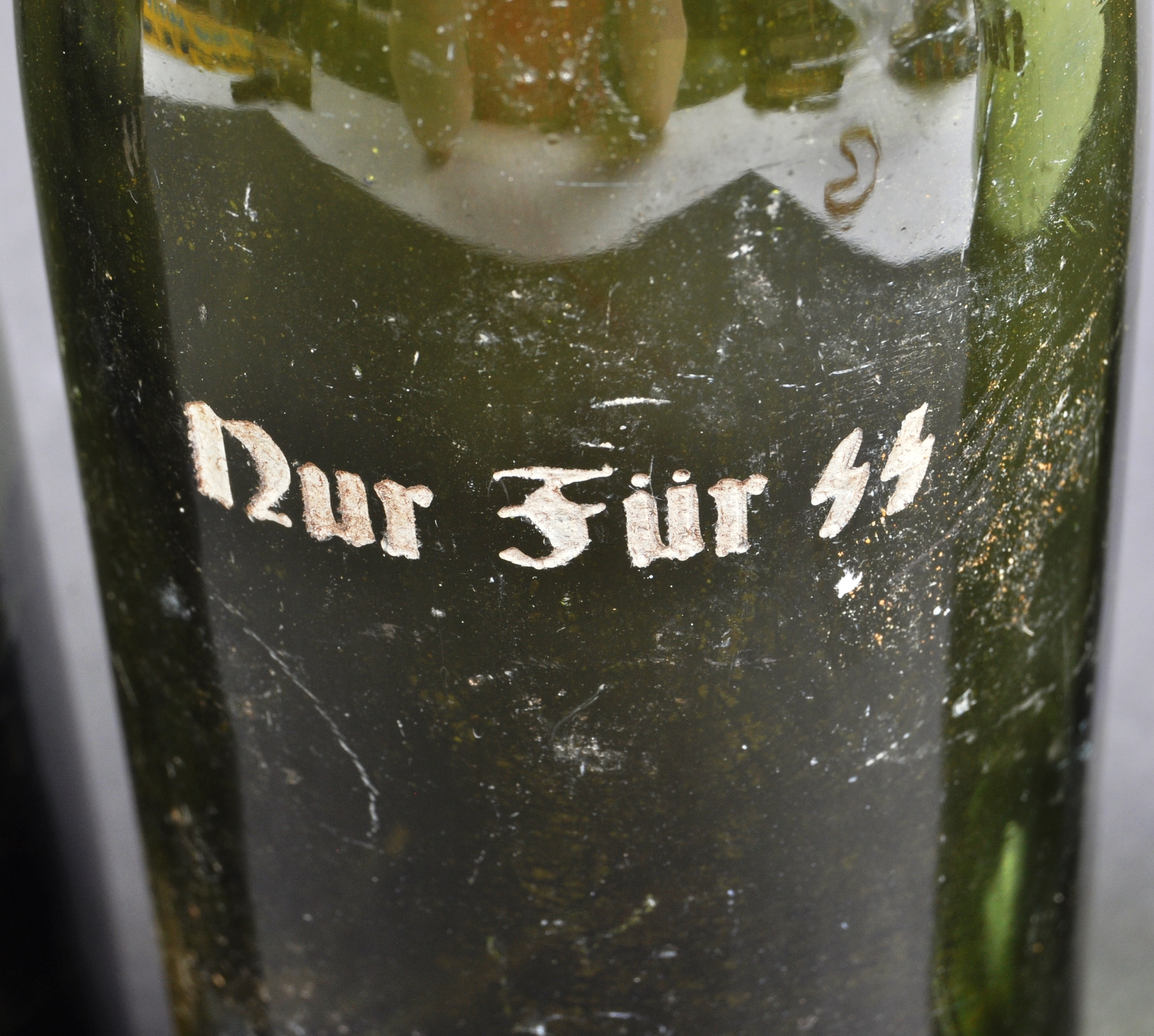 COLLECTION OF X4 GERMAN THIRD REICH SS BEER BOTTLES - Image 4 of 7