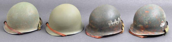 WWII SECOND WORLD WAR REPLICA MINIATURE US ARMY HELMETS