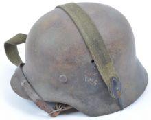 ORIGINAL WWII SECOND WORLD WAR M40 GERMAN UNIFORM HELMET