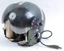 ORIGINAL 1980S RAF 4 SERIES FLYING HELMET ' BONE DOME '