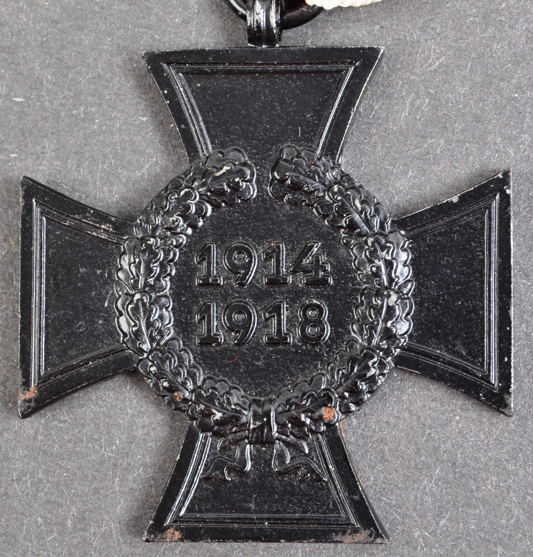 ORIGINAL WWI FIRST WORLD WAR BLACK HONOUR CROSS MEDAL & PAPERS - Image 5 of 5