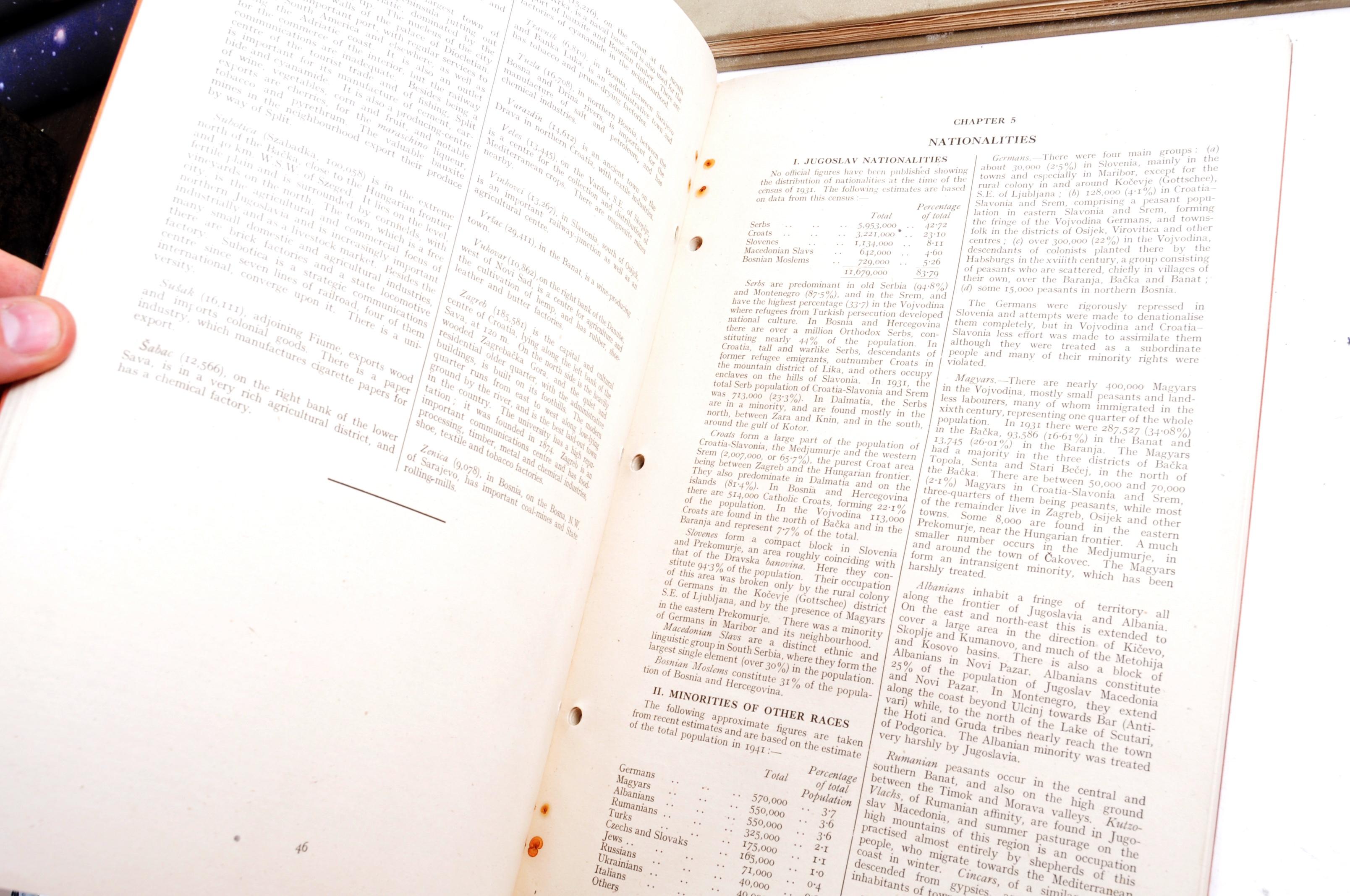 RARE ORIGINAL WWII 'SECRET' JUGOSLAVIA BRITISH HANDBOOKS - Image 3 of 9