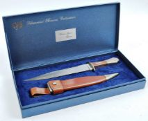 20TH CENTURY PAUL CHEN / HANWEI MADE BOWIE KNIFE