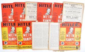 WWII SECOND WORLD WAR - ADOLF HITLER MEIN KAMPF MAGAZINES