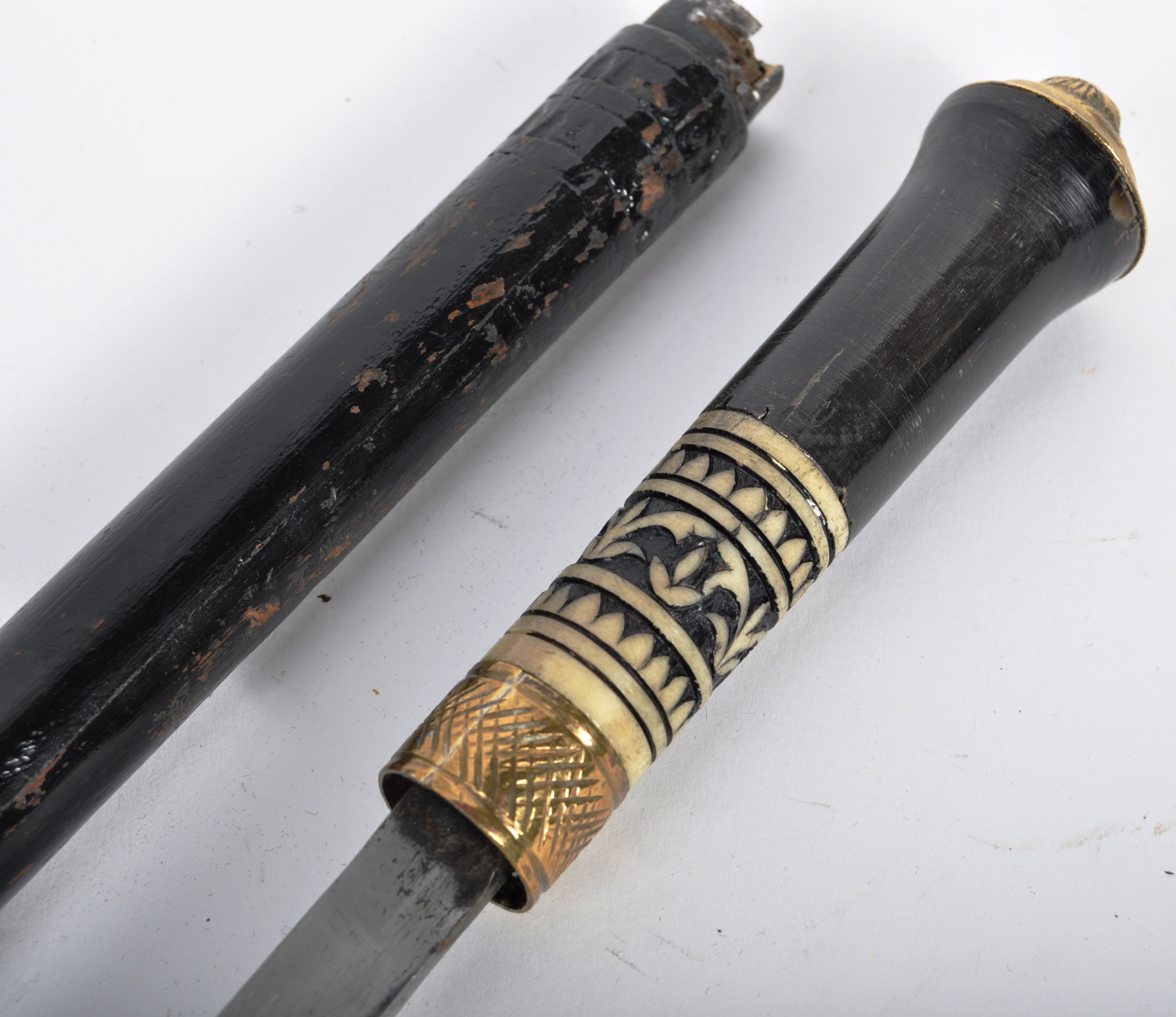 LATE 19TH CENTURY INDIAN SWORD STICK WITH CONSEALED BLADE - Image 2 of 7