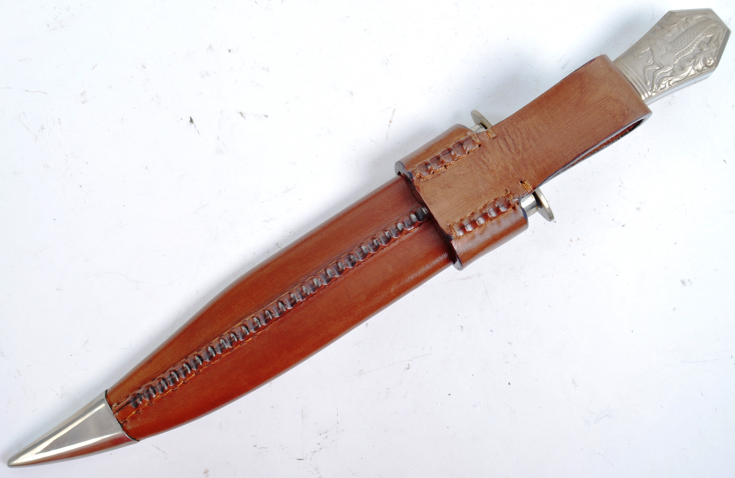 20TH CENTURY PAUL CHEN / HANWEI MADE BOWIE KNIFE - Image 11 of 12