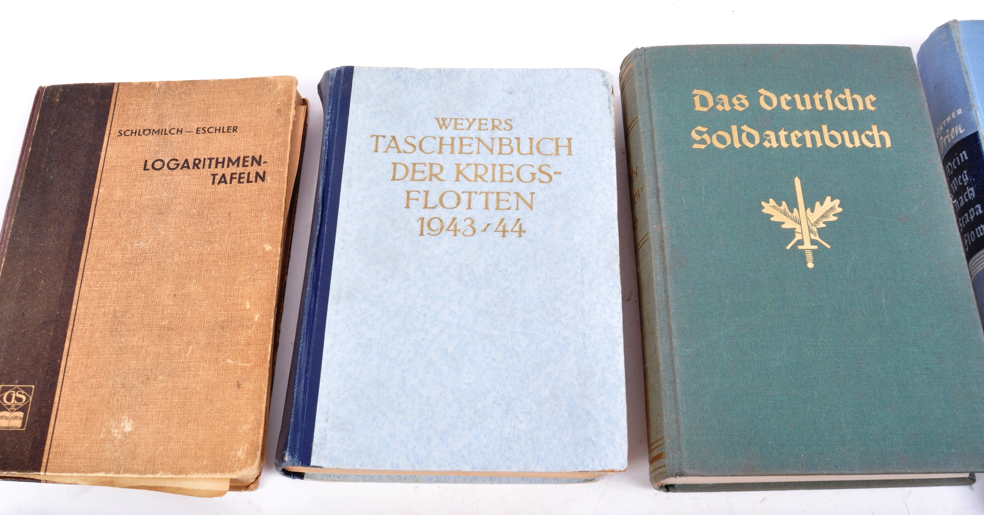 COLLECTION OF ASSORTED WWII GERMAN THIRD REICH BOOKS - Image 2 of 12
