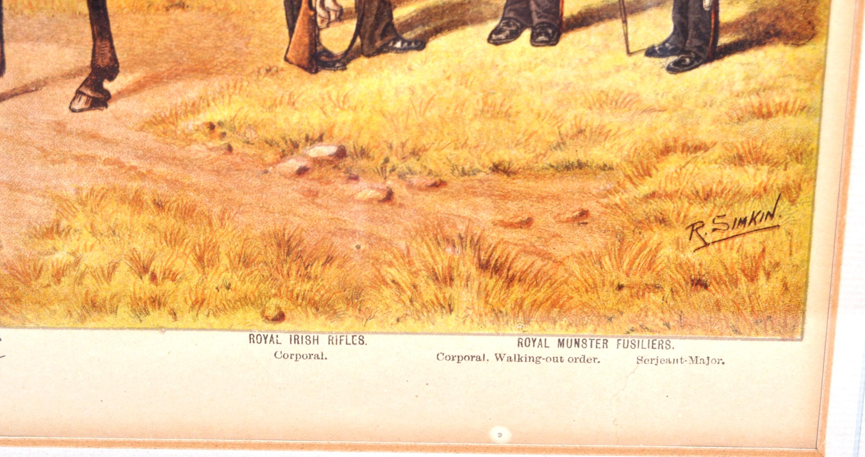 RICHARD SIMKIN - THE IRISH REGIMENTS OF THE BRITISH ARMY - Image 6 of 7