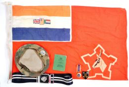 SOUTH AFRICA DEFENSE FORCE - EFFECTS FROM A 32ND BATTALION SOLDIER