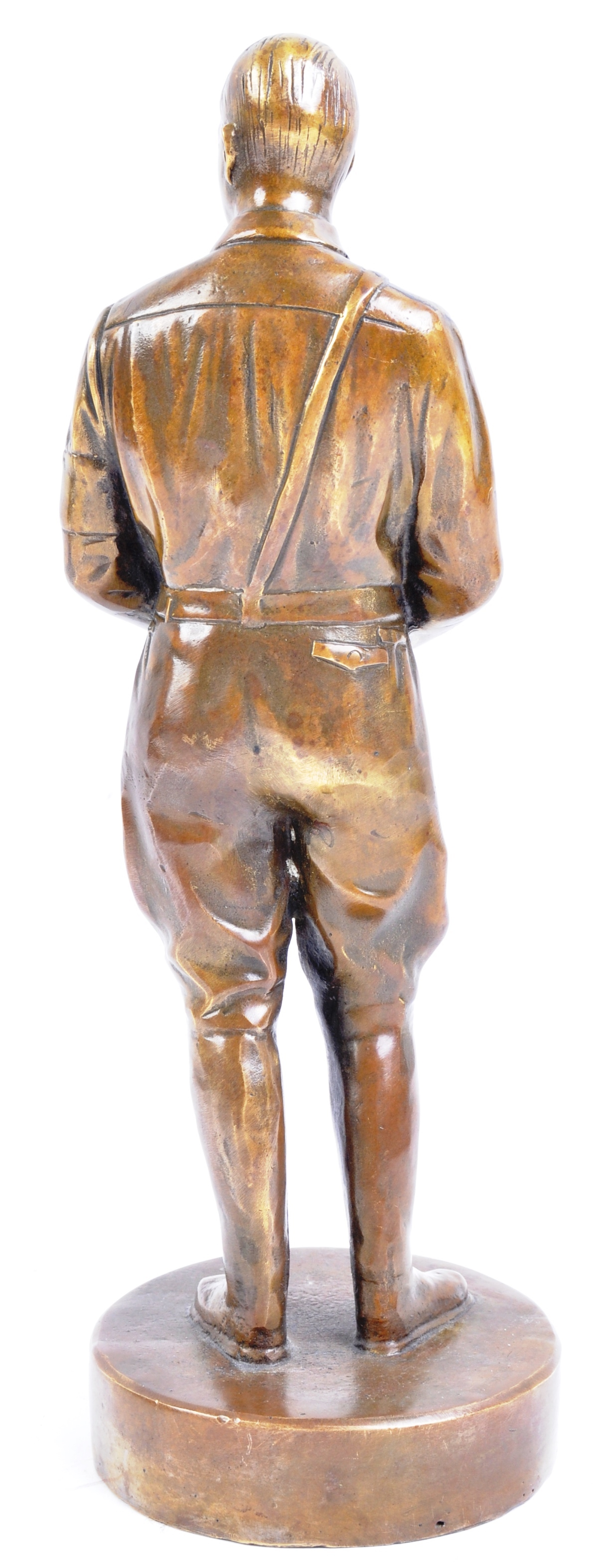 WWII SECOND WORLD WAR INTEREST - BRONZE STATUE OF ADOLF HITLER - Image 6 of 6