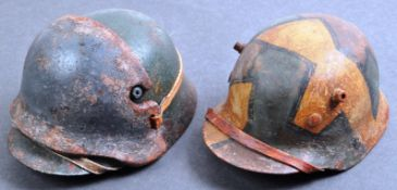 WWI FIRST WORLD WAR MINIATURE STAHLHELM GERMAN HELMETS