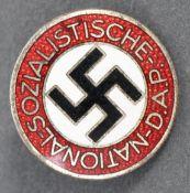 ORIGINAL WWII NSDAP THIRD REICH MEMBERS BADGE