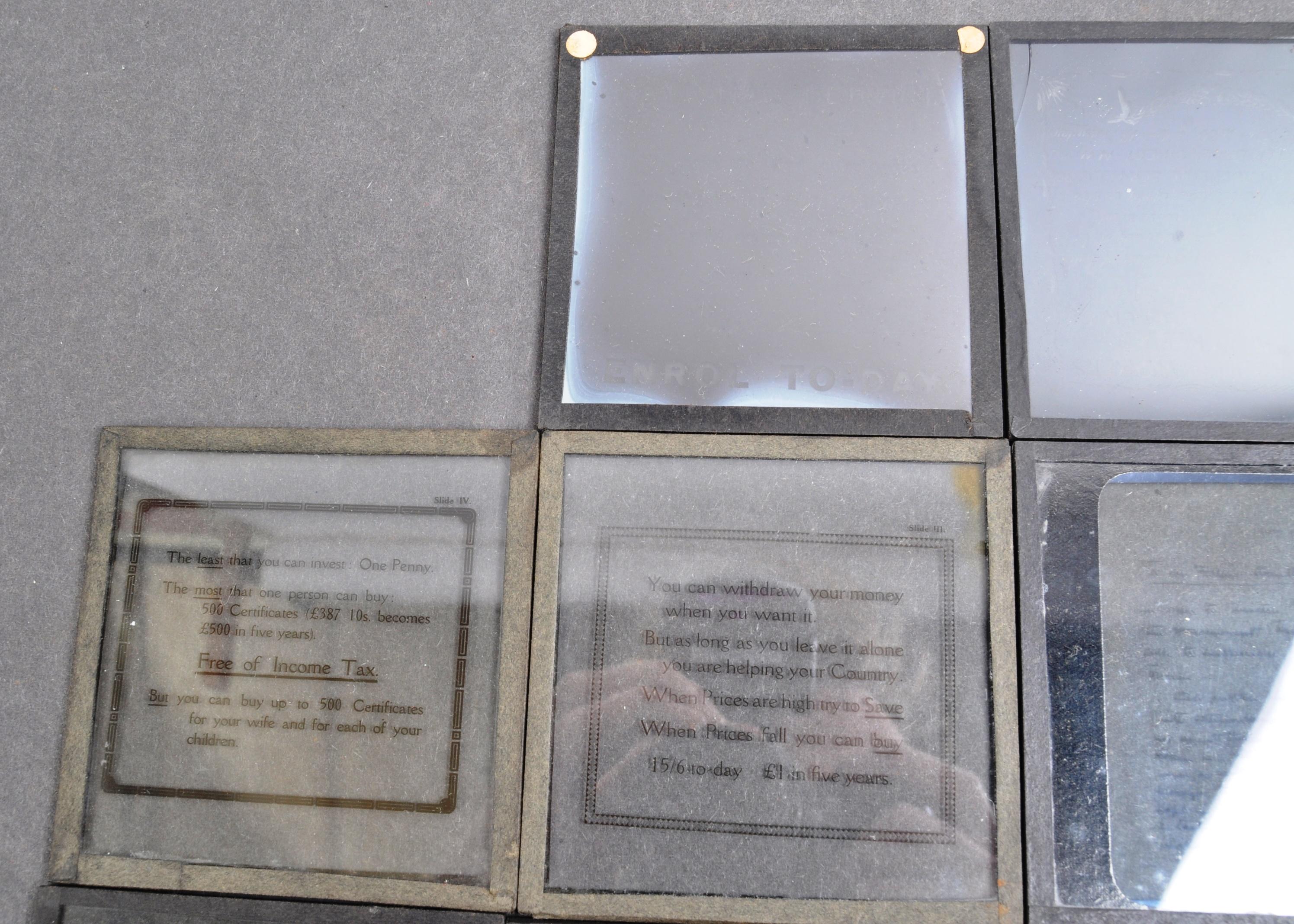 SCARCE WWI FIRST WORLD WAR MAGIC LANTERN SLIDES - Image 4 of 9