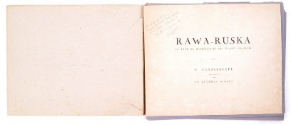 RAWA-RUSKA BY E. VANDERHEYDE - FOLIO OF WWII POW PRINTS AT STALAG 325