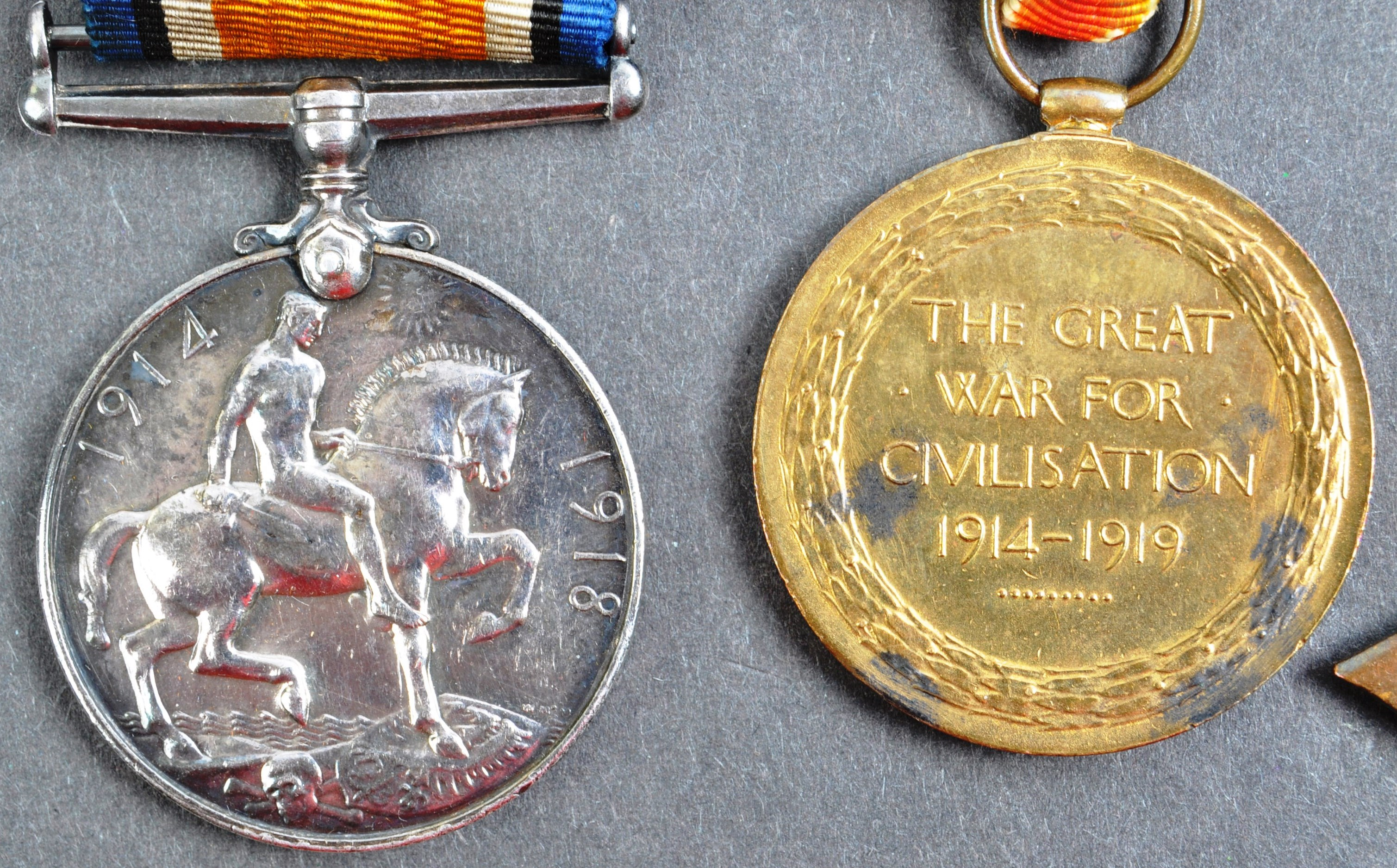 WWI FIRST WORLD WAR MEDAL GROUP - LEADING SEAMAN ROYAL NAVY - Image 5 of 10