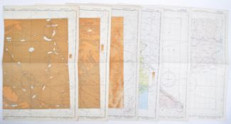 COLLECTION OF ORIGINAL WWII SECOND WORLD WAR US MAPS