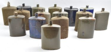LARGE COLLECTION OF X16 WWI WATER CANTEENS / BOTTLES
