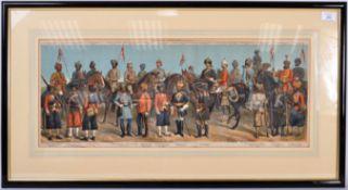 RICHARD SIMKIN - THE INDIAN NATIVE ARMY