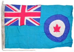 WWII SECOND WORLD WAR TYPE RCAF CANADIAN AIR FORCE BASE FLAG