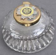 WWII SECOND WORLD WAR INTEREST ARP INKWELL - ARMSTRONG SIDDELEY MOTORS