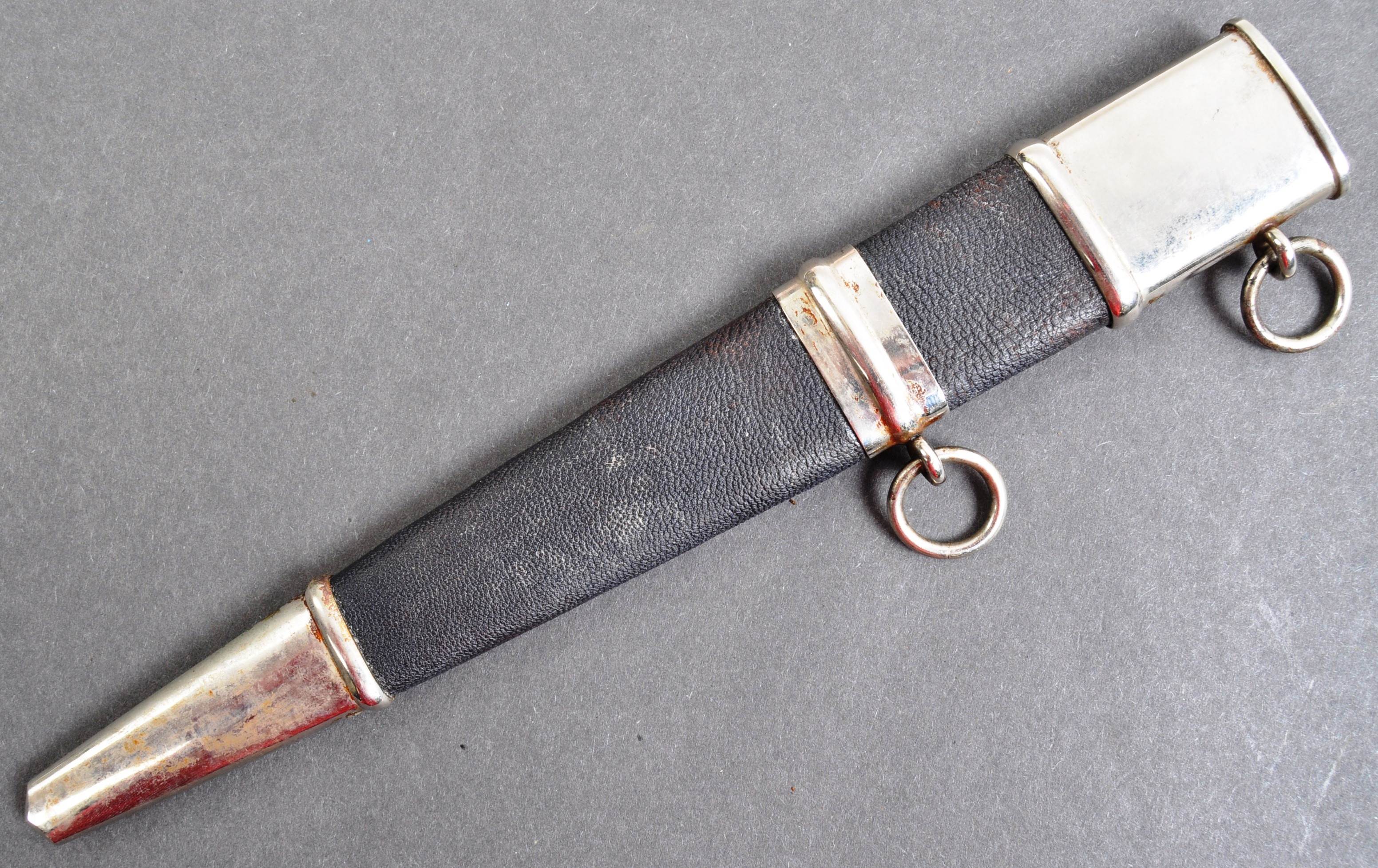 WWII SECOND WORLD WAR GERMAN AIR PROTECTION SERVICE DAGGER - Image 10 of 11