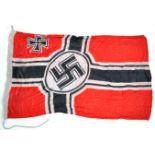 WWII SECOND WORLD WAR TYPE GERMAN KRIEGSMARINE FLAG