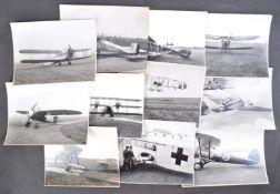 BRISTOL AEROPLANE COMPANY - ORIGINAL PRESS PHOTOS OF AIRCRAFT