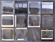 ANTIQUE C1900 MILITARY / NAVAL RELATED GLASS MAGIC LANTERN SLIDES