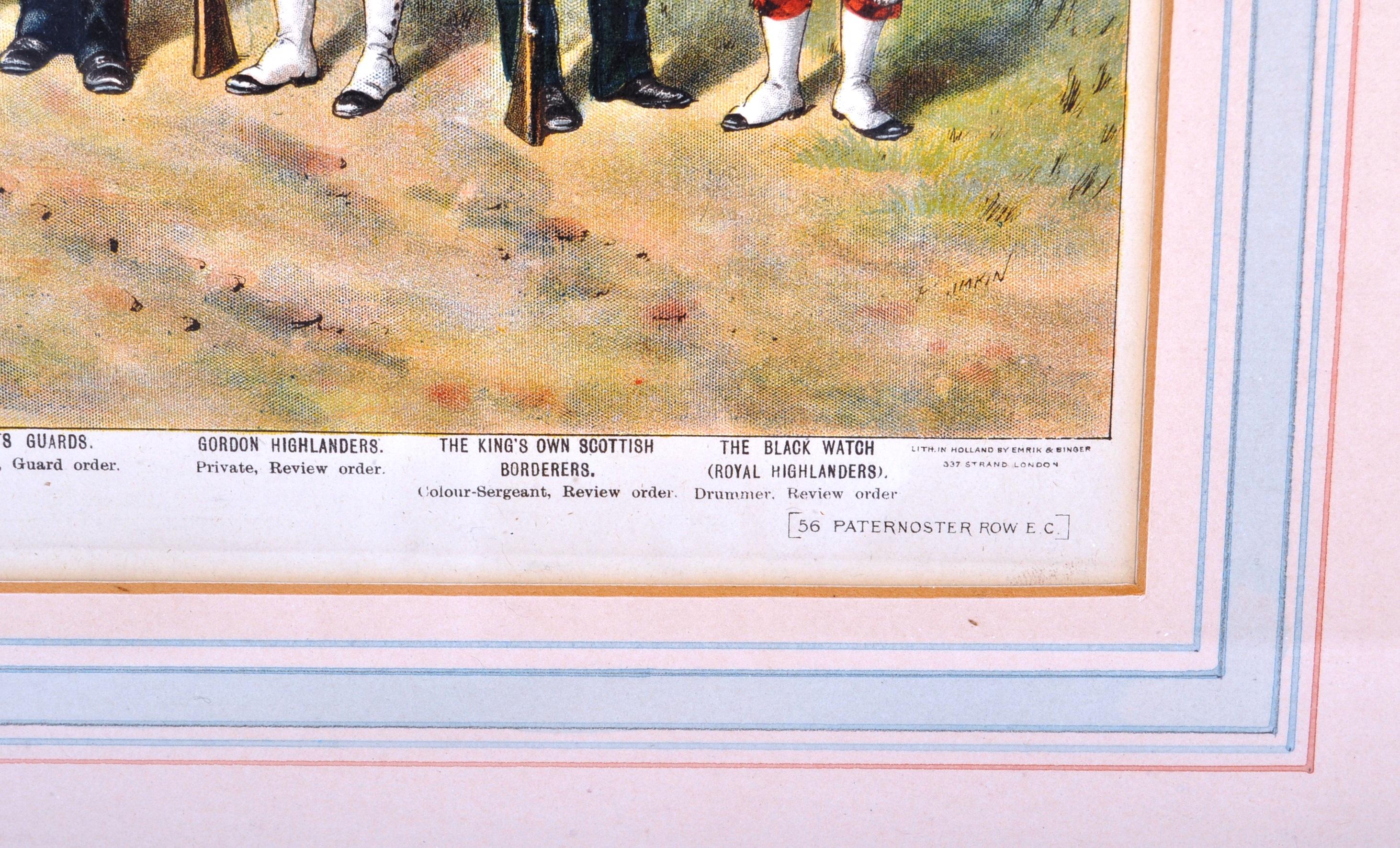 RICHARD SIMKIN - THE SCOTTISH REGIMENTS OF THE BRITISH ARMY - Image 6 of 7