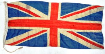 ORIGINAL VINTAGE WWII SECOND WORLD WAR ERA BRITISH UNION FLAG