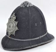 EARLY 20TH CENTURY CITY OF BATH POLICE HELMET