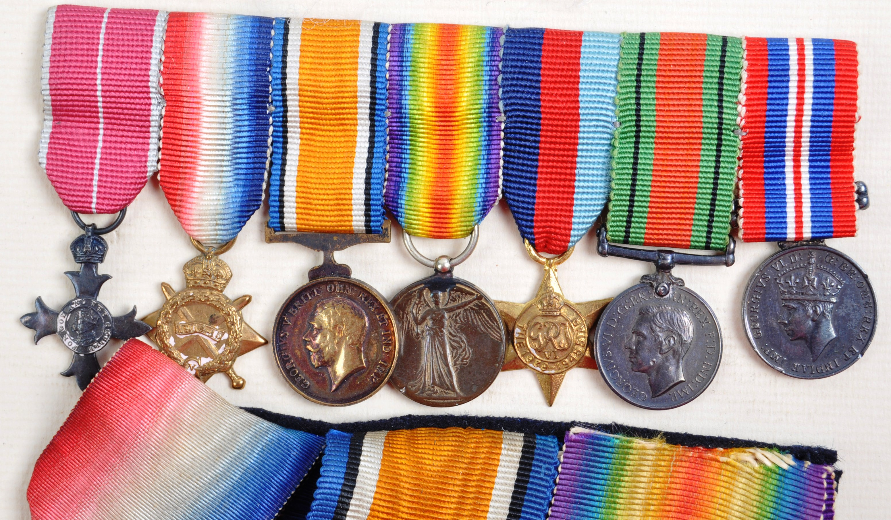 WWI & WWII SECOND WORLD WAR MEDAL GROUP - ROYAL NAVY - Image 4 of 5