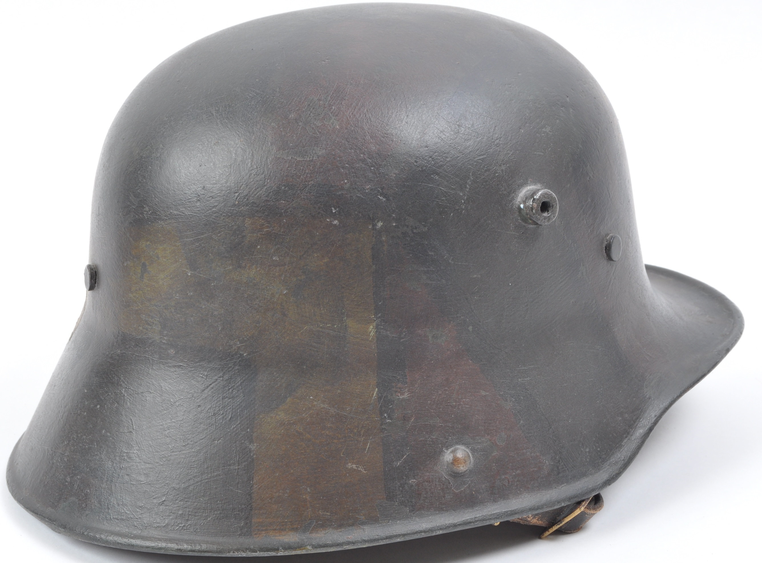 WWI FIRST WORLD WAR M16 CAMOUFLAGE HELMET - Image 4 of 7