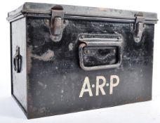 ORIGINAL WWII SECOND WORLD WAR AIR RAID PRECAUTIONS FIRST AID TIN