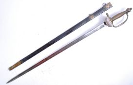 19TH CENTURY BRITISH INFANTRY OFFICERS 1796 PATTERN SWORD