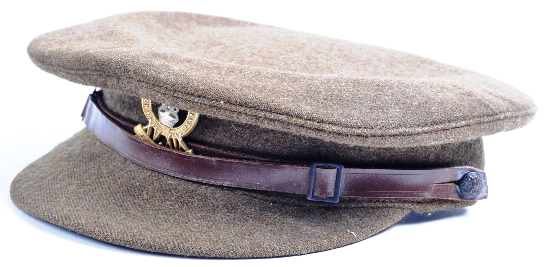 WWI FIRST WORLD WAR PERIOD KING'S ROYAL HUSSARS CAP