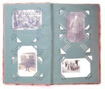 ORIGINAL WWI FIRST WORLD WAR IMPERIAL GERMAN POSTCARD ALBUM