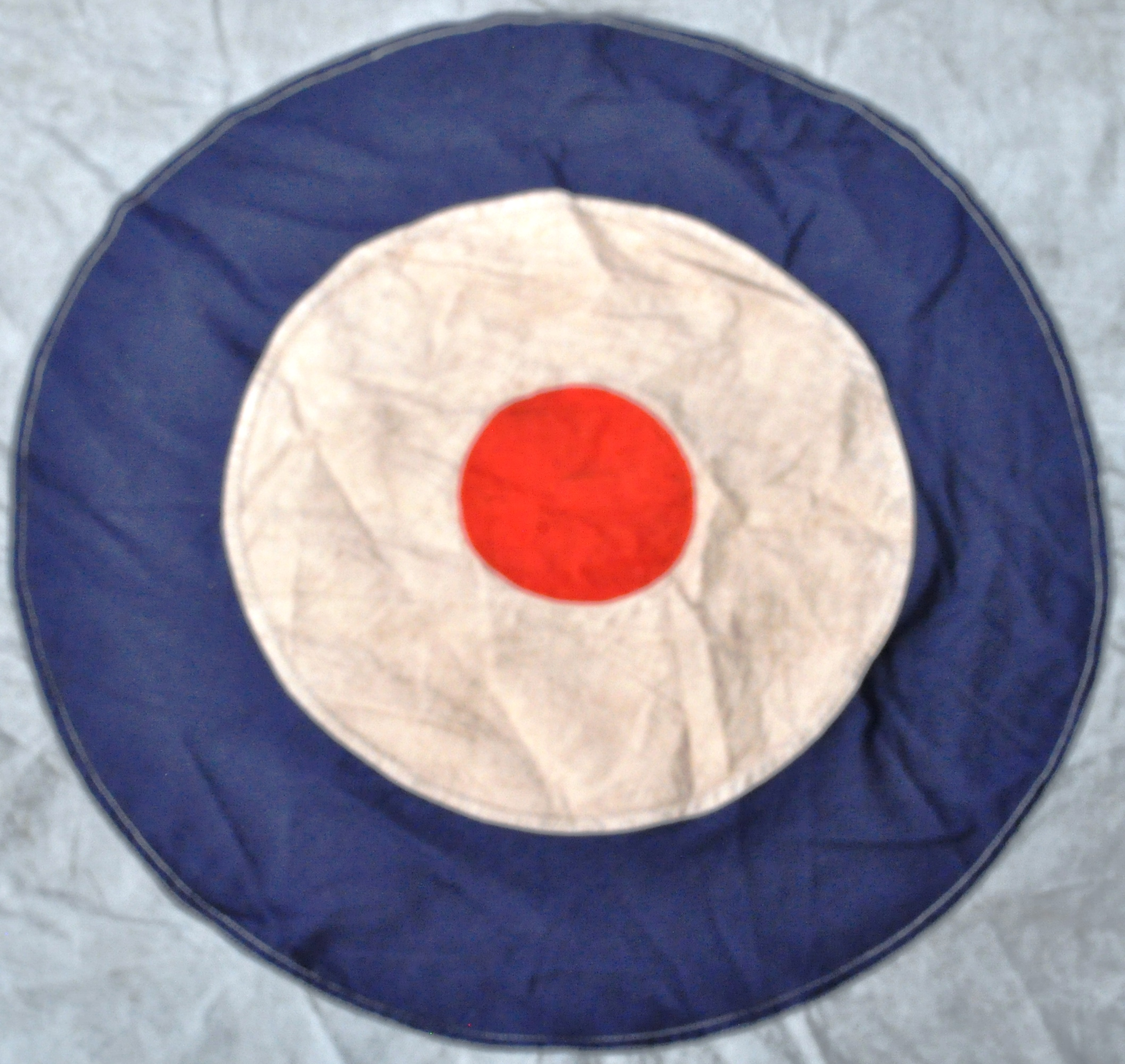 WWII SECOND WORLD WAR TYPE RAF AIRFIELD FLAG - DEBDEN - Image 4 of 8