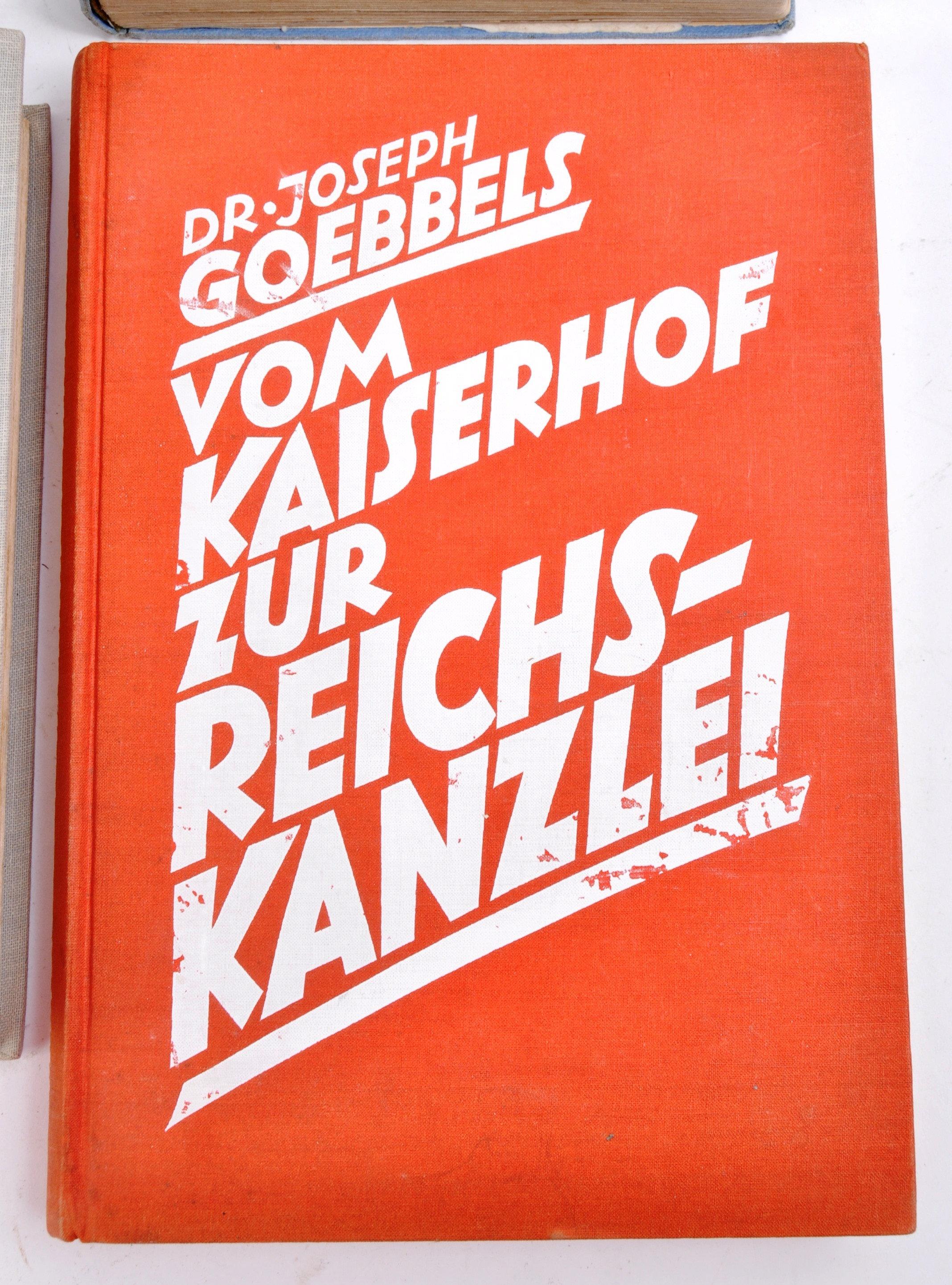 COLLECTION OF ASSORTED WWII GERMAN THIRD REICH BOOKS - Image 4 of 12