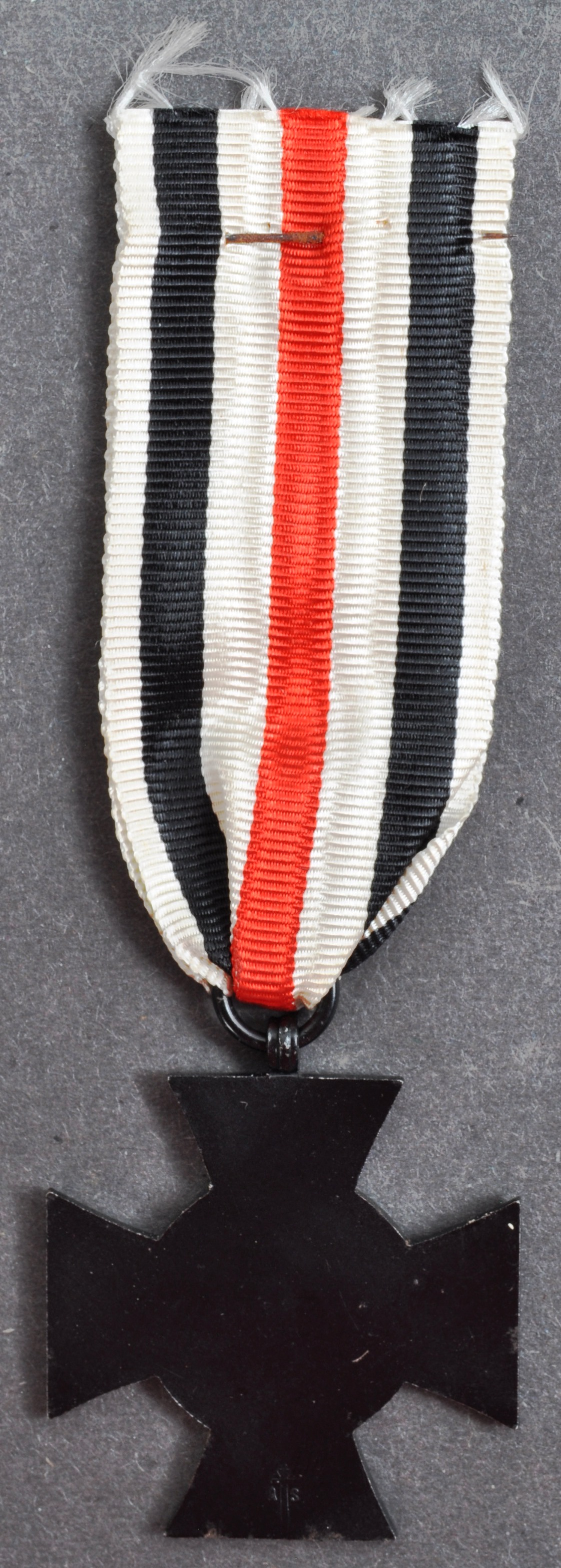 ORIGINAL WWI FIRST WORLD WAR BLACK HONOUR CROSS MEDAL & PAPERS - Image 4 of 5