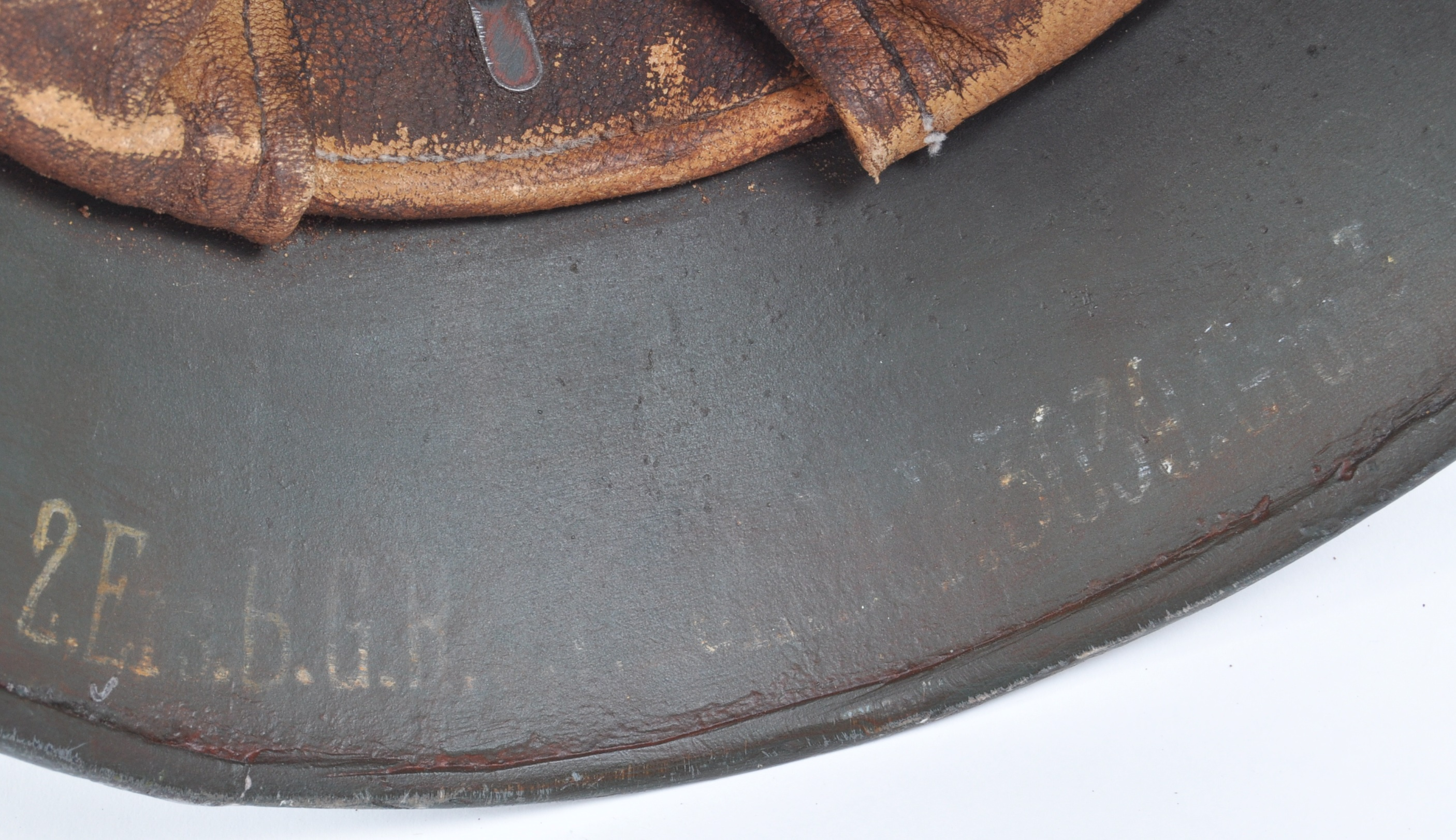 WWI FIRST WORLD WAR M16 CAMOUFLAGE HELMET - Image 6 of 7