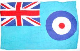 20TH CENTURY BRITISH RAF ROYAL AIR FORCE ENSIGN FLAG