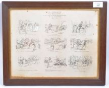 BOER WAR INTEREST - 'THE EXPERIENCES OF A WOOLWICH CADET ' PRINT