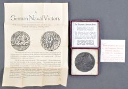 RMS LUSITANIA - WWI FIRST WORLD WAR PERIOD SINKING MEDAL