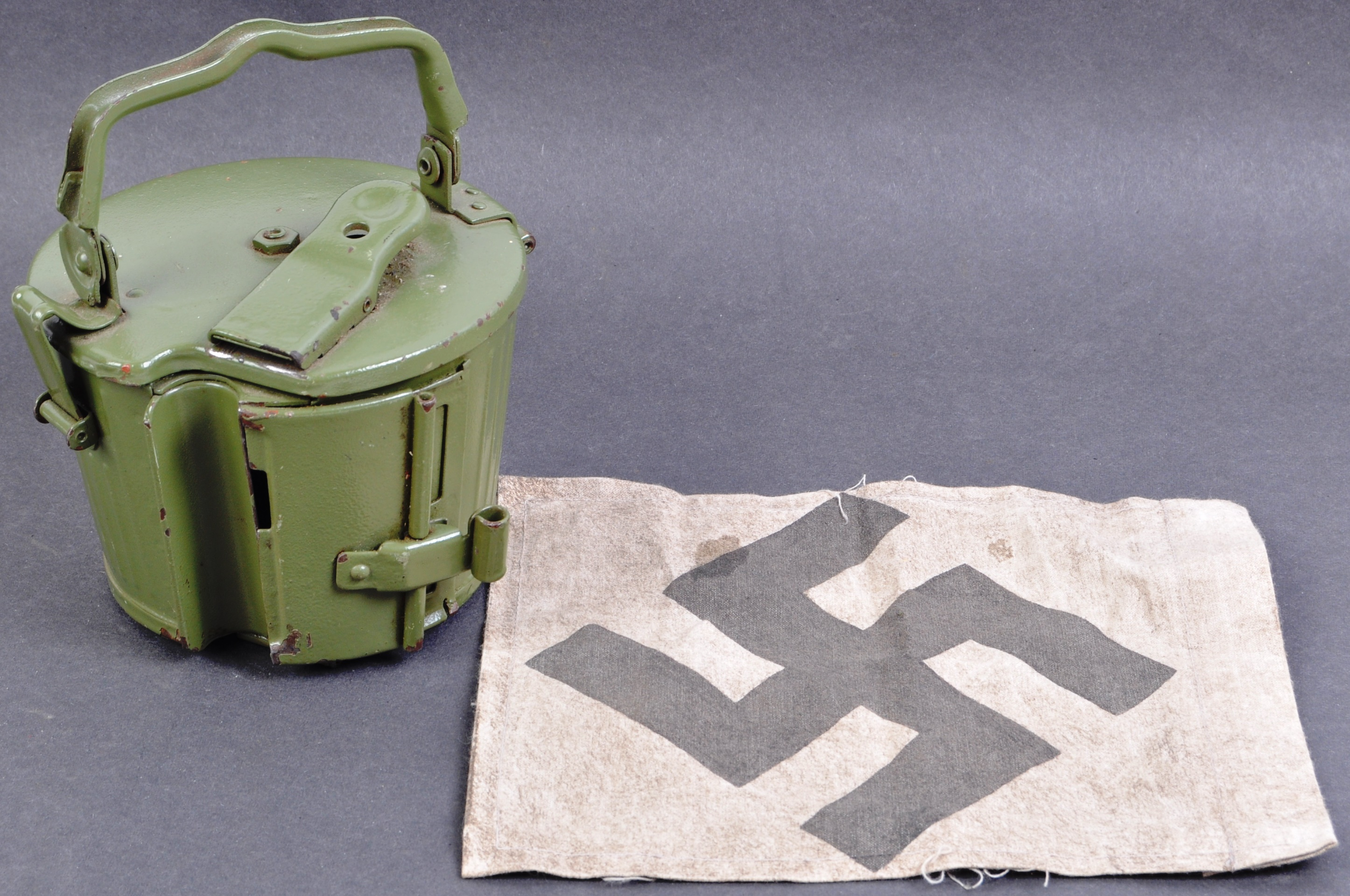 TWO WWII SECOND WORLD WAR TYPE GERMAN REPLICA ITEMS