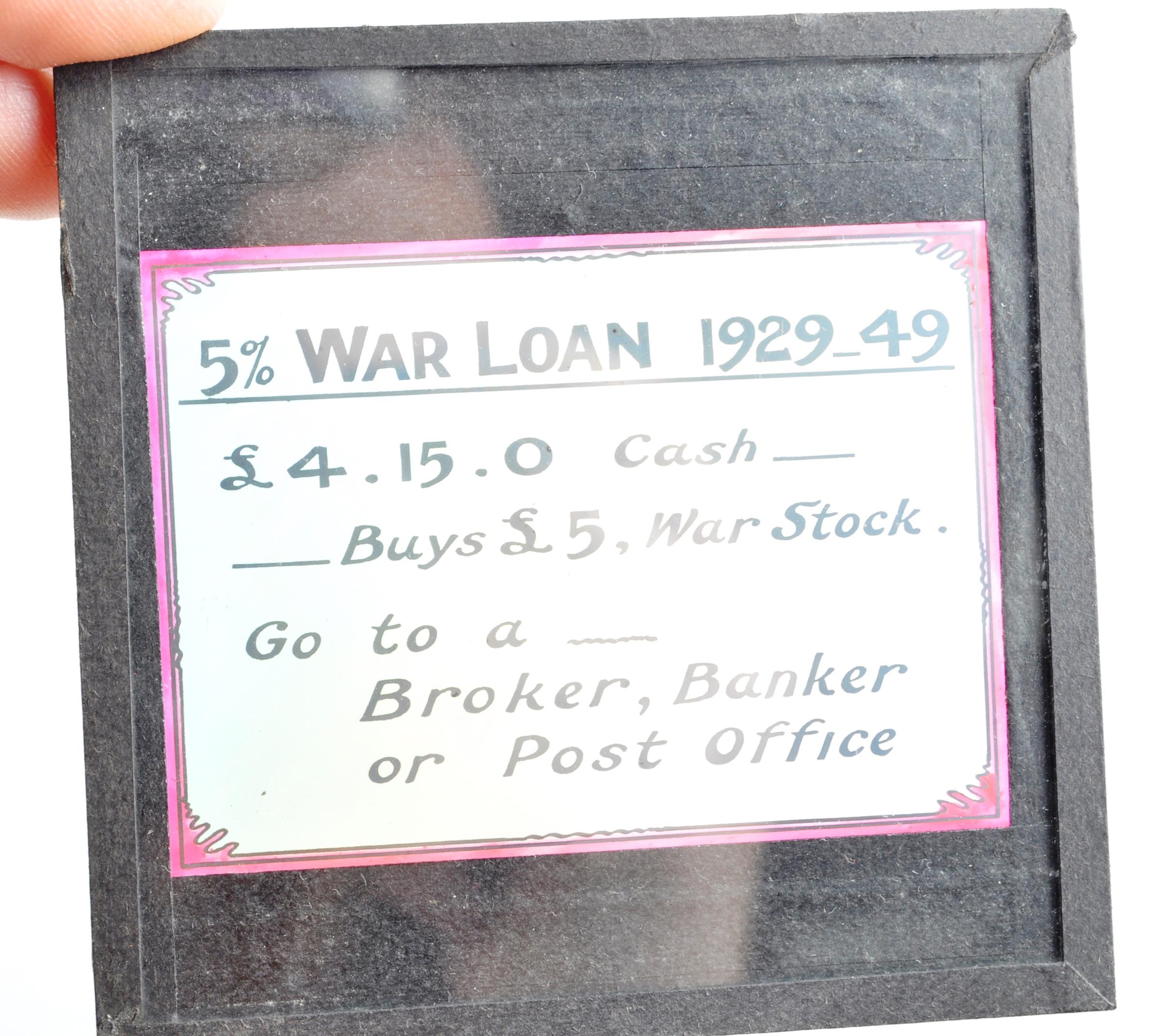 SCARCE WWI FIRST WORLD WAR MAGIC LANTERN SLIDES - Image 6 of 9
