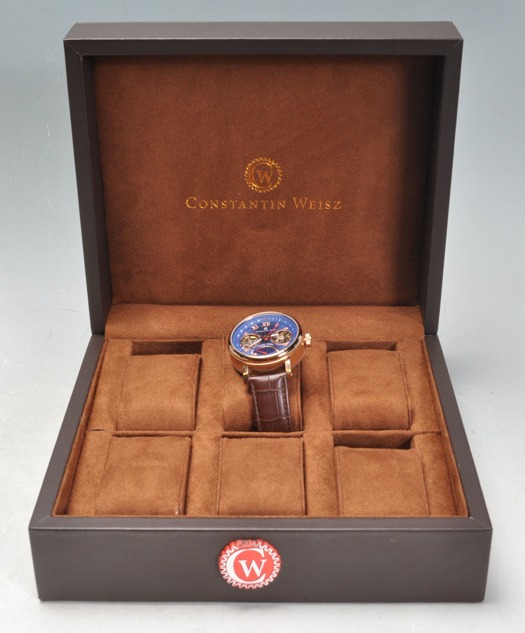 CONSTANTIN WEISZ DOUBLE HEART AUTOMATIC WRISTWATCH - Image 7 of 7