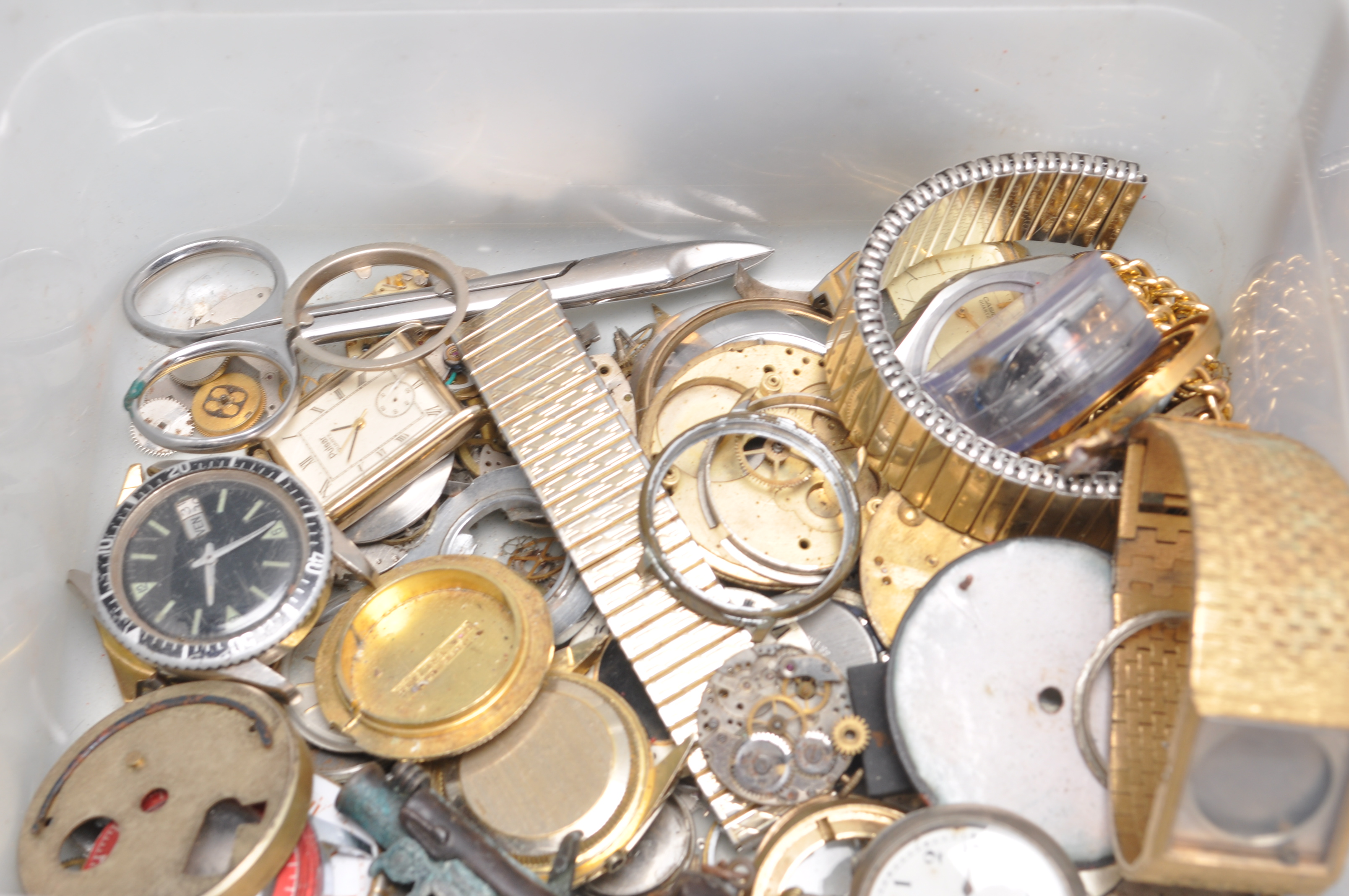 LARGE COLLECTION OF VARIOUS WATCH PARTS AND SPARES - Image 5 of 8