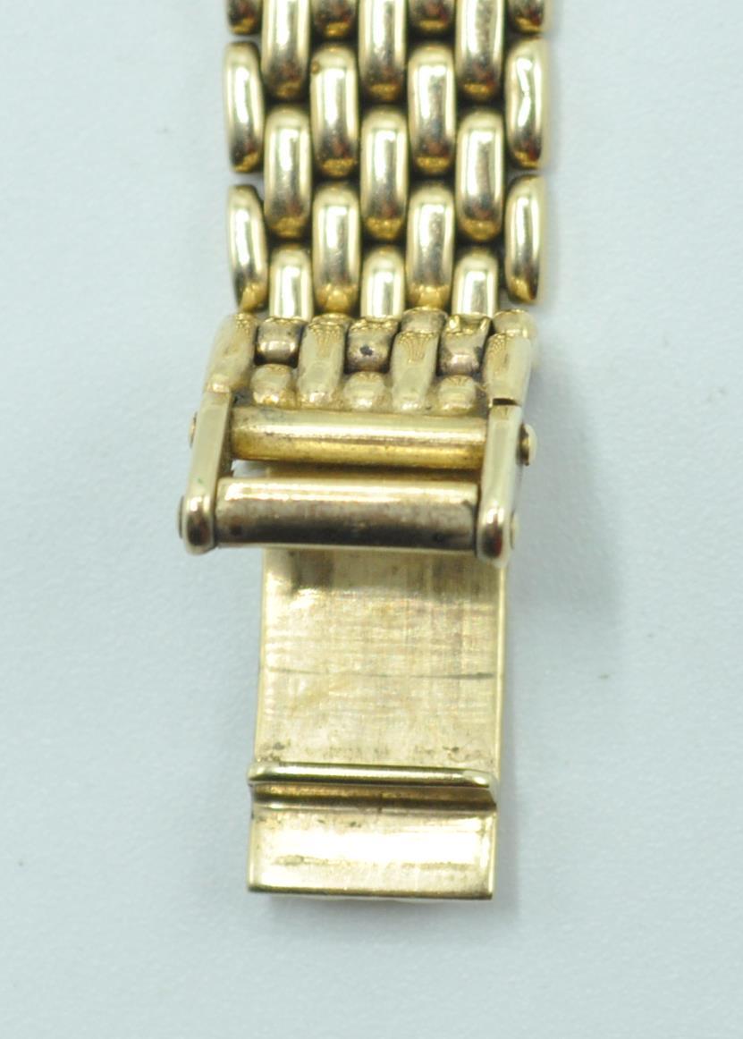 BUECHE GIROD 9CT GOLD AND DIAMOND WRIST WATCH - Image 6 of 8